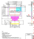 OLED 0.95 de Grafische LCD Module van ``