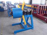 Qualität 3 Tonnen des einfaches manuelles Metall-Uncoiler