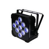 Disco-heller 9*18W Batterieleistung drahtloser DMX LED NENNWERT