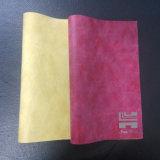 Самая популярная кожа PVC для крышки софы (HJ1818-708)