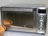 Ss物質的なデジタルトースターのオーブン