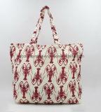 女性のための再使用可能なショッピング綿のトートバック