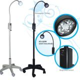 Gp Practices, E.N.T., Ophthalmology, Gynaecology, Small Theatre, Clinic, Physician, Minor Operations, Dental Use를 위한 LED Minor Surgical Lamp Ks-Q6 Black Mobile Type