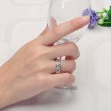 Hoge Echte Zilveren Ring Quaility Met de hand gemaakte 925 met CZ (r-0418)