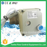 """Dn25 1 """" NSF61 2 collegare DC12V 24V con la valvola a sfera elettrica motorizzata Ss304 manuale dell'acqua della provvigione supplementare"""