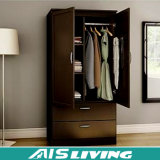 Шкафы шкафа шкафа высокого лоска деревянные для спальни (AIS-W143)