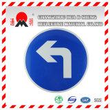 Vinile riflettente dello strato del grado bianco di ingegneria per i segnali di pericolo dei segni di traffico stradale (TM7600)