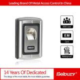 Controlador do acesso da impressão digital do metal