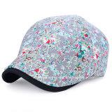 IVY 형식 가득 차있는 인쇄 숙녀 모자 모자