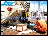 Grue extraterritoriale télescopique hydraulique 5t@11m de paquet de bateau