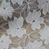 Telas francesas del cordón de la gasa del bordado para los accesorios de la ropa