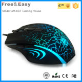 Горячее 6D Ergonomic Gaming Mouse с 6 Colorful СИД Show