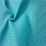 50dによって編まれるドビーのあや織りの格子縞の平野の小切手のオックスフォードの屋外のジャカード100%年のポリエステルファブリック(X046)