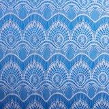 La vendita calda degli accessori dell'indumento Non-Allunga il tessuto bianco del merletto