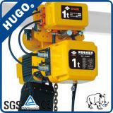 Gru Chain elettrica di PDH gru elettrica del carrello del sacchetto della catena da 1 tonnellata con il motore