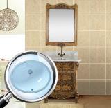 بيضويّة غسل [هند بسن/] خزفيّة غرفة حمّام بواليع مع [كبك] ([سن005])