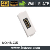 Femaleへの高品質Right Angle HDMI Wall Plate Female