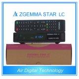 極度の低価格の販売DVB-C 1のチューナーのZgemmaの星LCのサテライトレシーバのLinux OS E2のインターネットケーブルボックス