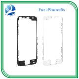 Vue avant initiale d'écran tactile de convertisseur analogique/numérique pour le blanc moyen de noir d'encadrement de l'iPhone 5s