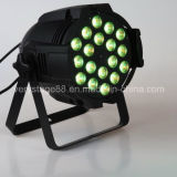 DMX512 18*15W RGBWA UV6 in 1 LED PAR Light