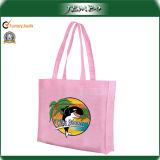 Sacco promozionale della tela di canapa del sacco di Tote di acquisto del cotone caldo di vendita