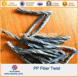 Fibra da fibra dos PP do Polypropylene de Fabrillated do monofilamento do álcôol Polyvinyl PVA