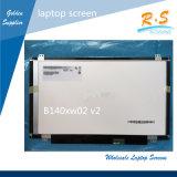 Computadora portátil al por mayor de la pantalla 14.0inch de la computadora portátil LCD/LED de par en par y monitor de la pantalla de fulgor B140xw02 V2 LED