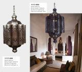 Morrocan vorzügliches Messingmuster-hängende Lampe (KA1117-1200)