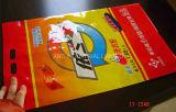 Detergent PowderのためのTwo Holes Hang Holeの平らなBag