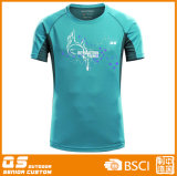Camisa contínua do esporte T da forma dos homens