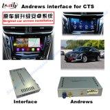 De VideoInterface van de navigatie voor Cadillac Srx, Xts, de Navigatie van de Aanraking van de Verbetering van ATS (het SYSTEEM van het RICHTSNOER van de Auto), WiFi, BT, Mirrorlink, HD 1080P, Google Kaart, de Opslag van het Spel, Stem