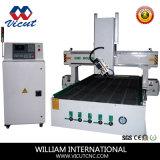 centro fazendo à máquina do CNC 4-Axis para a indústria do molde (o eixo gira 180 graus))