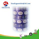 Metallisches lamellenförmig angeordnetes Popcorn-verpackenrollenfilm des Nahrungsmittelgrad-CPP