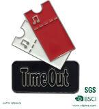 Kundenspezifisches Metallpin-Abzeichen mit weichem Decklack