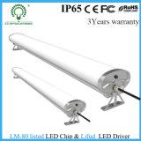 tubo impermeable de la luz del día LED del 1.2m los 4FT 40W 220V