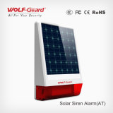 Solar esterno Panel Spot Alarm Siren con Stobe Light