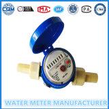 Einzelner Düsentrockner-Typ magnetisches Laufwerk-Wohnwasser-Messinstrument