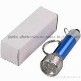 Blinkendes Licht Keychain des Zoll-LED mit Firmenzeichen-Druck (4070)