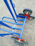 6 Whhel Can Climbing Stair Hand Trolley 또는 Truck