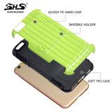 PC revolucionário 2 do projeto TPU de Shs em 1 caixa híbrida do telefone da armadura para o iPhone 6s