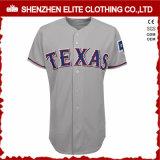 2016ブランク白い細い縦縞の野球のジャージーの卸売