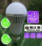 Backup Battery E27 B22를 가진 5W 7W 9W 12W Rechargeable Emergency LED Bulb
