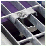 Agrafes discordantes galvanisées de fabricant discordant professionnel