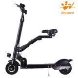 電気スクーターのハンドルの電気スクーターを折る緑旅行高品質