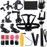 Sports esterno 13 in-1 Kit Accessories per Gopro Hero 1 2 3 3+ 4 Camera