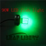 90W 12-24V LED Underwater Fishing Lights met Solor Plate, Solar Fishing Attracting Light