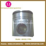 Pistón del motor del cilindro 6738-31-2110 de KOMATSU 6D102 S6d102 6738-31-2111