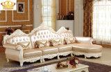 Sofà sezionale del cuoio moderno della mobilia della fabbrica dell'insieme del sofà del salone della Camera 1+2+3