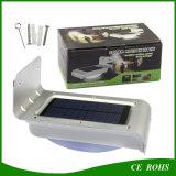 16 LED-Garten-Lampen-angeschaltenes Bewegungs-Fühler-dunkles Modus-Wand-Solarlicht