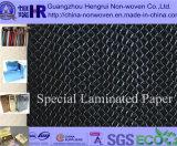 Diverso papel de embalaje metálico de lujo/papel de arte/papel revestido (No. KY010)